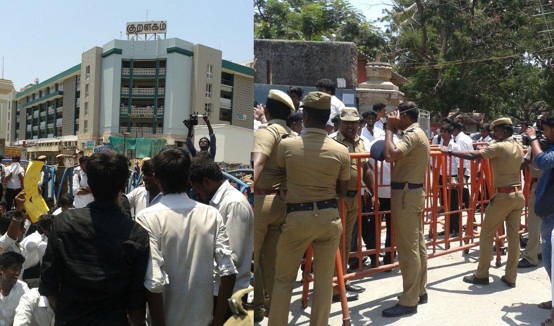 Breaking News: Tamilnadu, Veeramani, Law Students