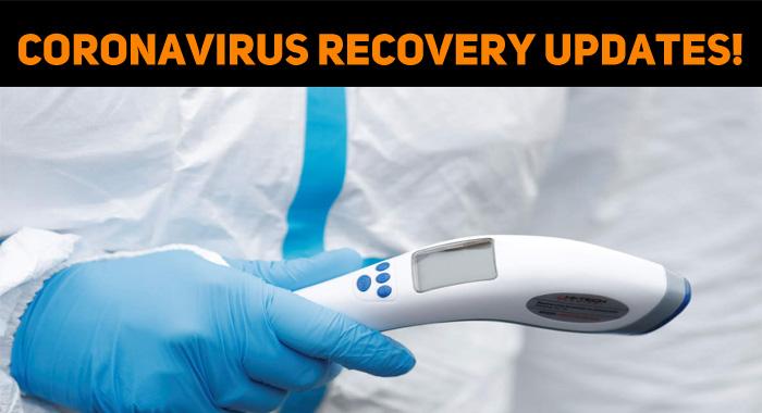 Coronavirus Recovery Updates!