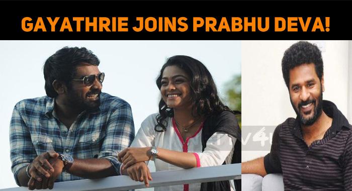 Vijay Sethupathi's Heroine Joins Prabhu Deva!