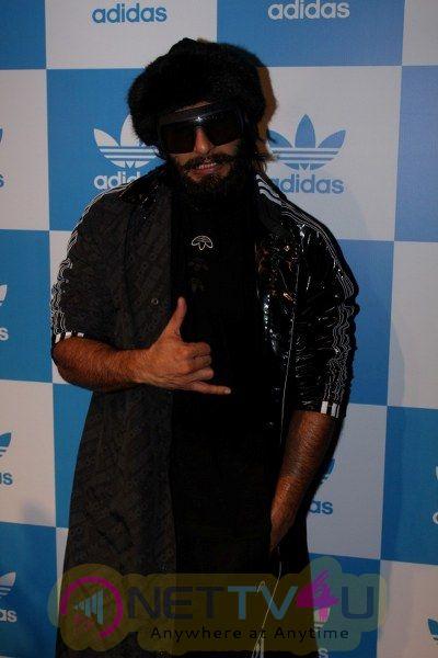 Ranveer Singh Launch Adidas Originals New Store