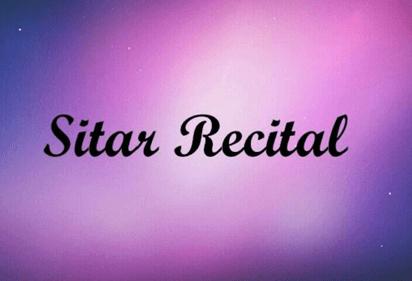 Sitar Recital