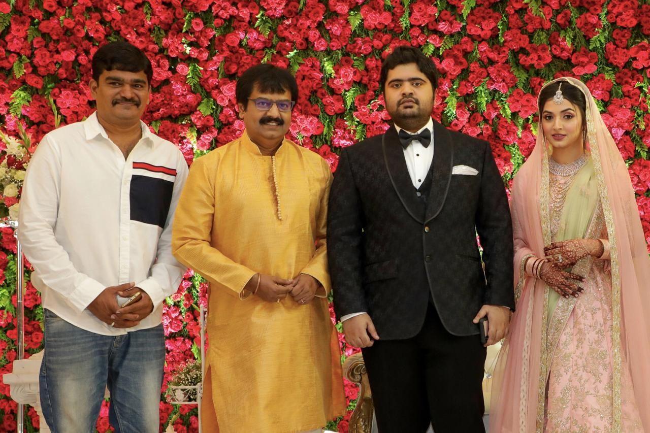 Music Director T.R.Kuralarasan - Nabeelah R Ahmed Wedding Reception Stills Tamil Gallery