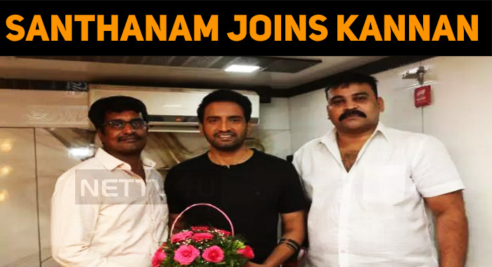 Santhanam Signs With Atharvaa's Director!