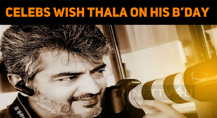 Celebrities Wish Thala On His Birthday!