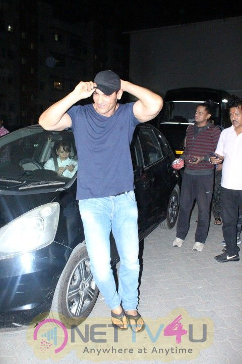 John Abraham Came To Mehboob Studio