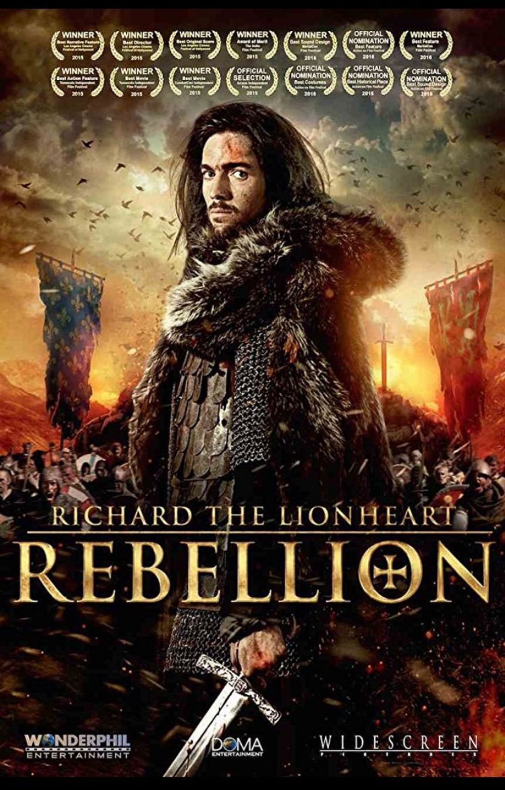 Richard The Lionheart Rebellion Movie Review English Movie Review