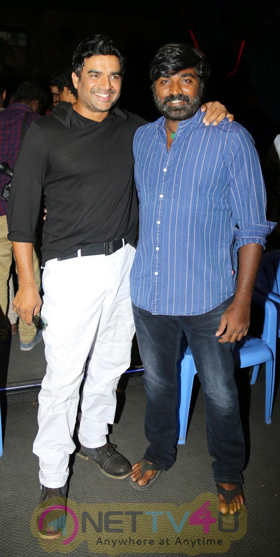 Vikram Vedha Movie Press Meet Stills