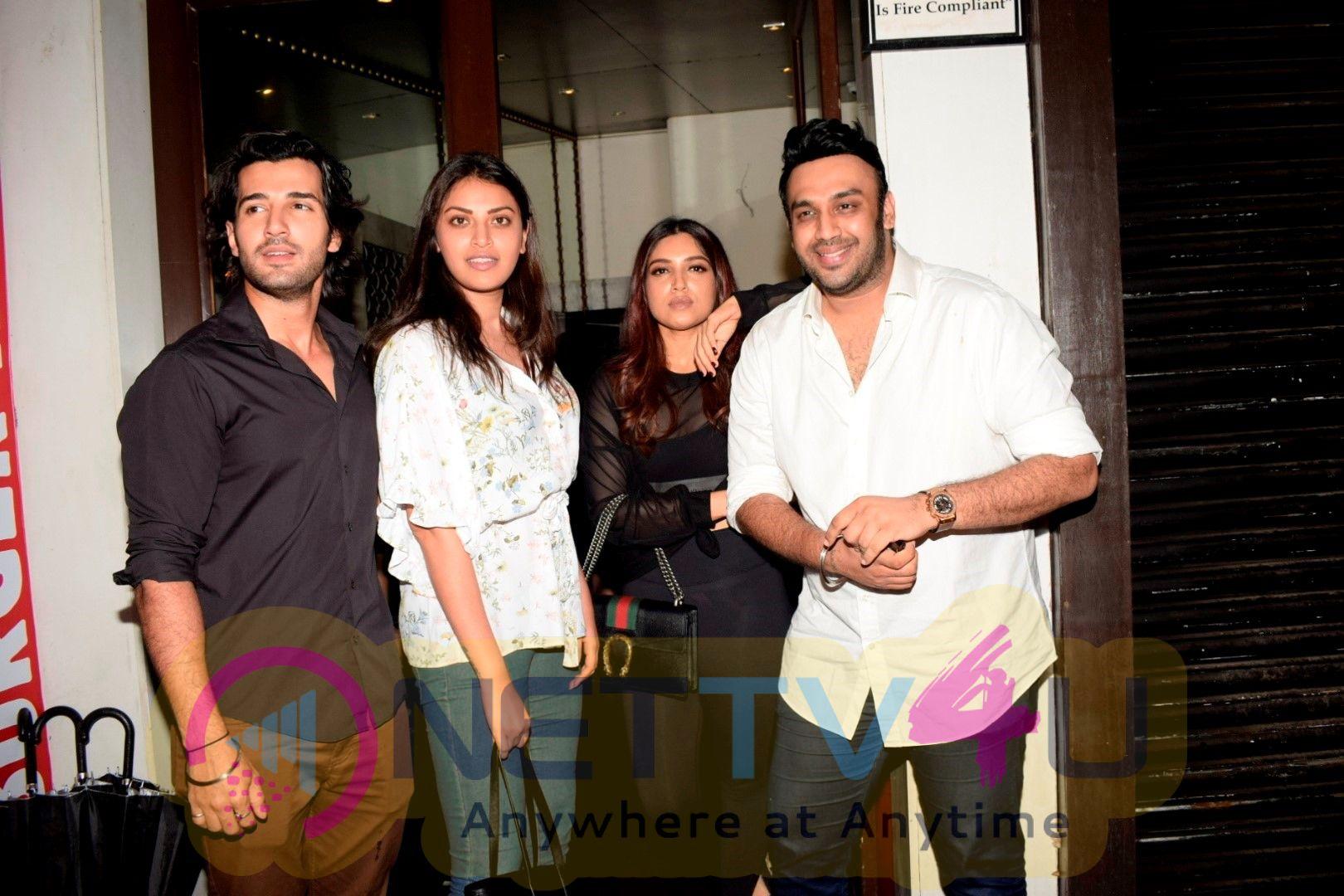 Bhumi Pednekar And  Vaani Kapoor Spotted At Bastian Restaurant In Bandra Best Images