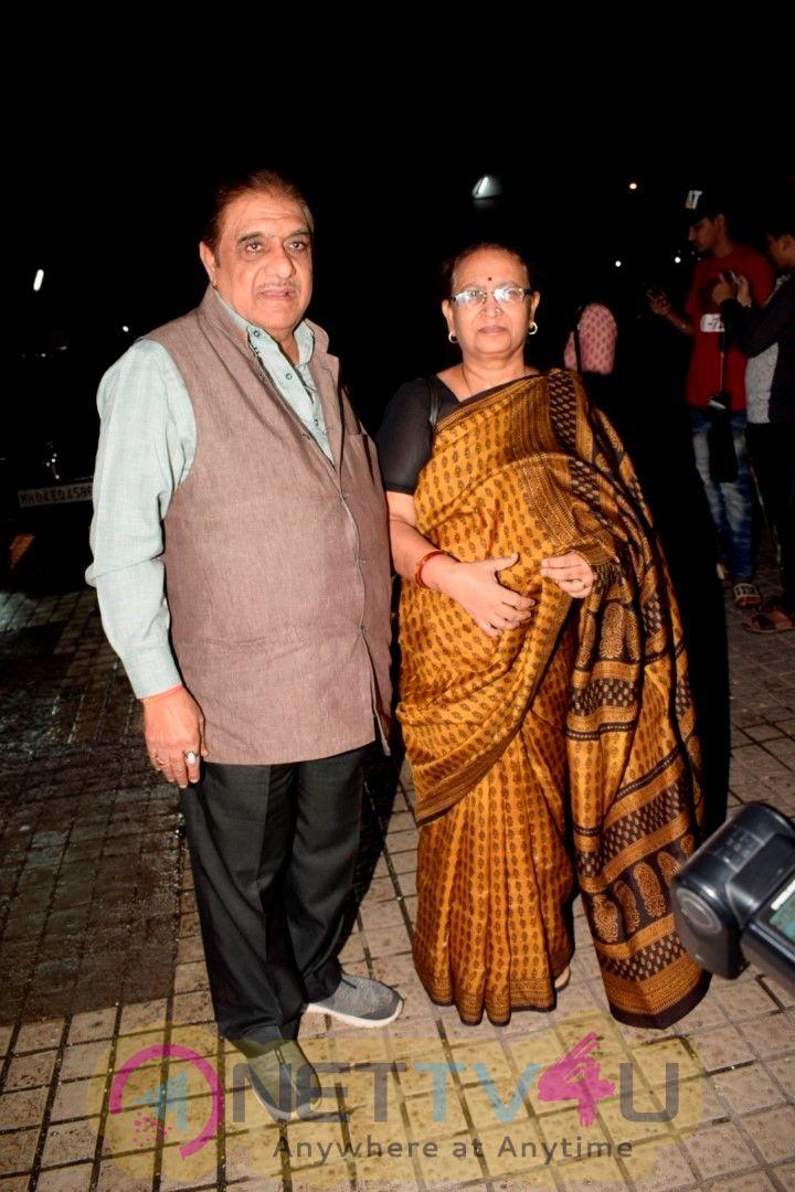 Screening Of Sanju At Pvr Juhu Cute Images  Hindi Gallery