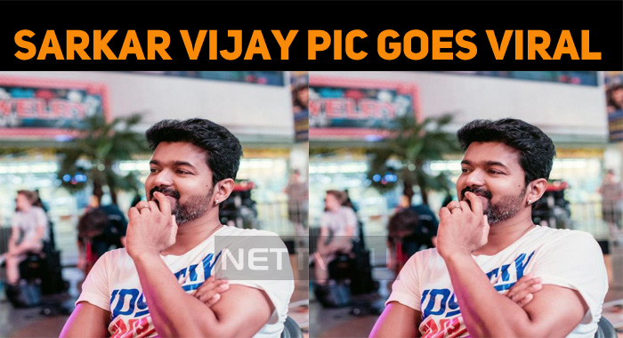Vijay's Sarkar Picture Going Viral Now!
