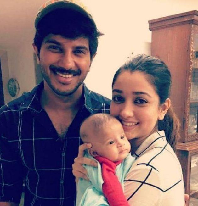 Dulquer Salmaan's Cute Little Daughter Amira!