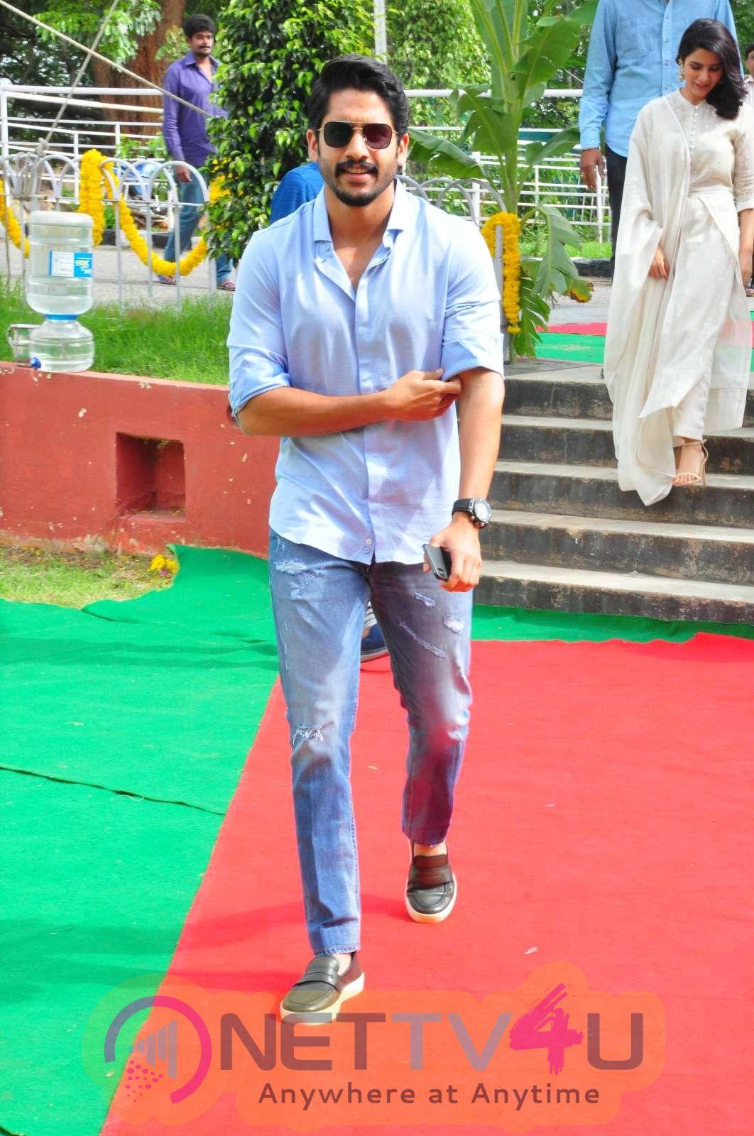Naga Chaitanya, Samantha & Shine Screens Production No 2 Launched Pics