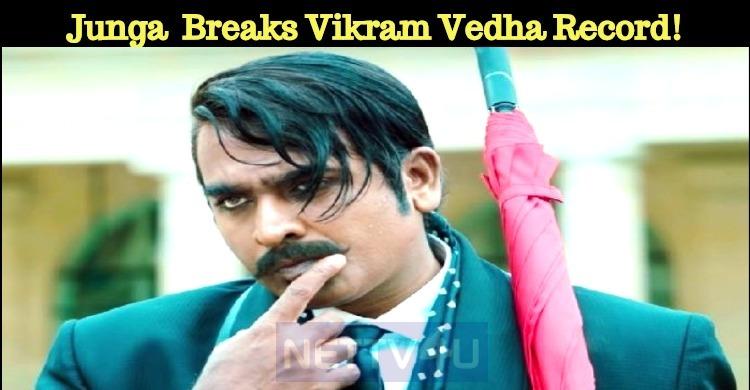Vijay Sethupathi's Junga Collection Breaks Vikram Vedha Record!