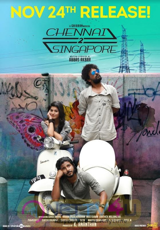 Chennai 2 Singapore Release Date Poster