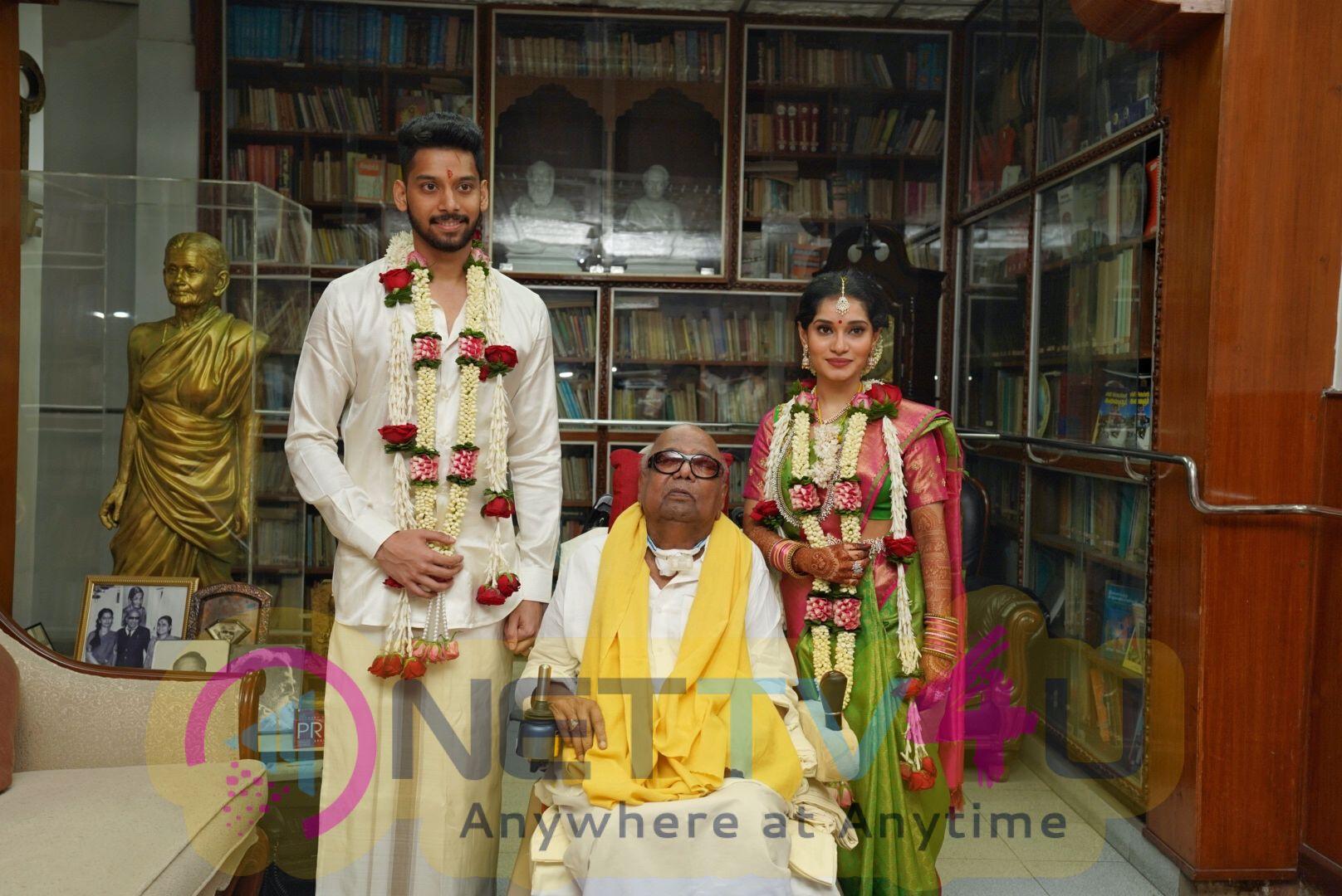 Chiyaan Vikram Daughter Marriage Photos
