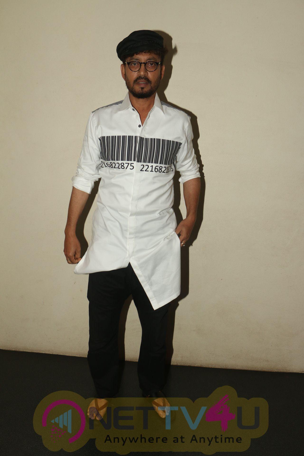 Irrfan Khan Spotted At Fun Republic For The Interview Of Film Qarib Qarib Singlle.
