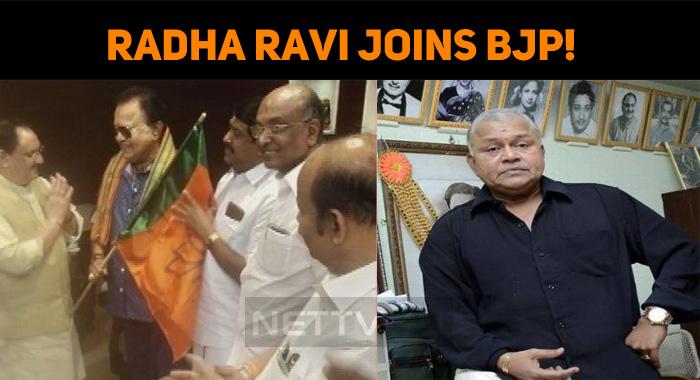 Radha Ravi Joins BJP!
