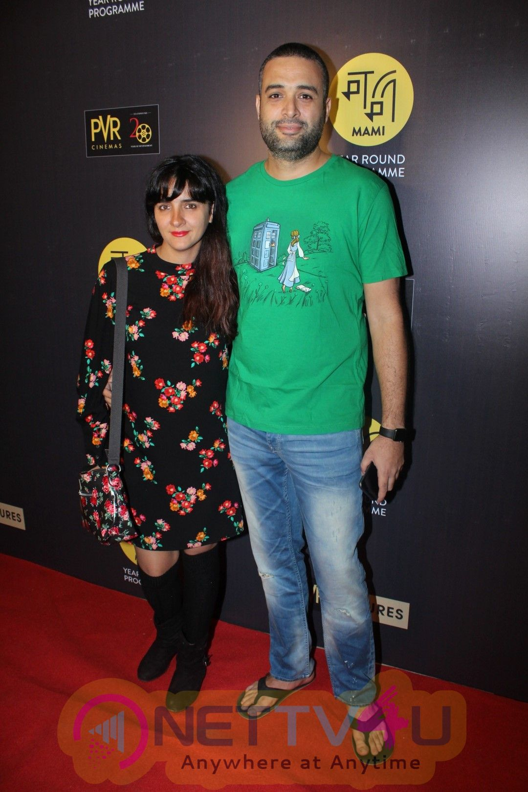 Anurag Kashyap & Mini Mathur At The Red Carpet Of Hollywood Movie All The Money In The World Pics