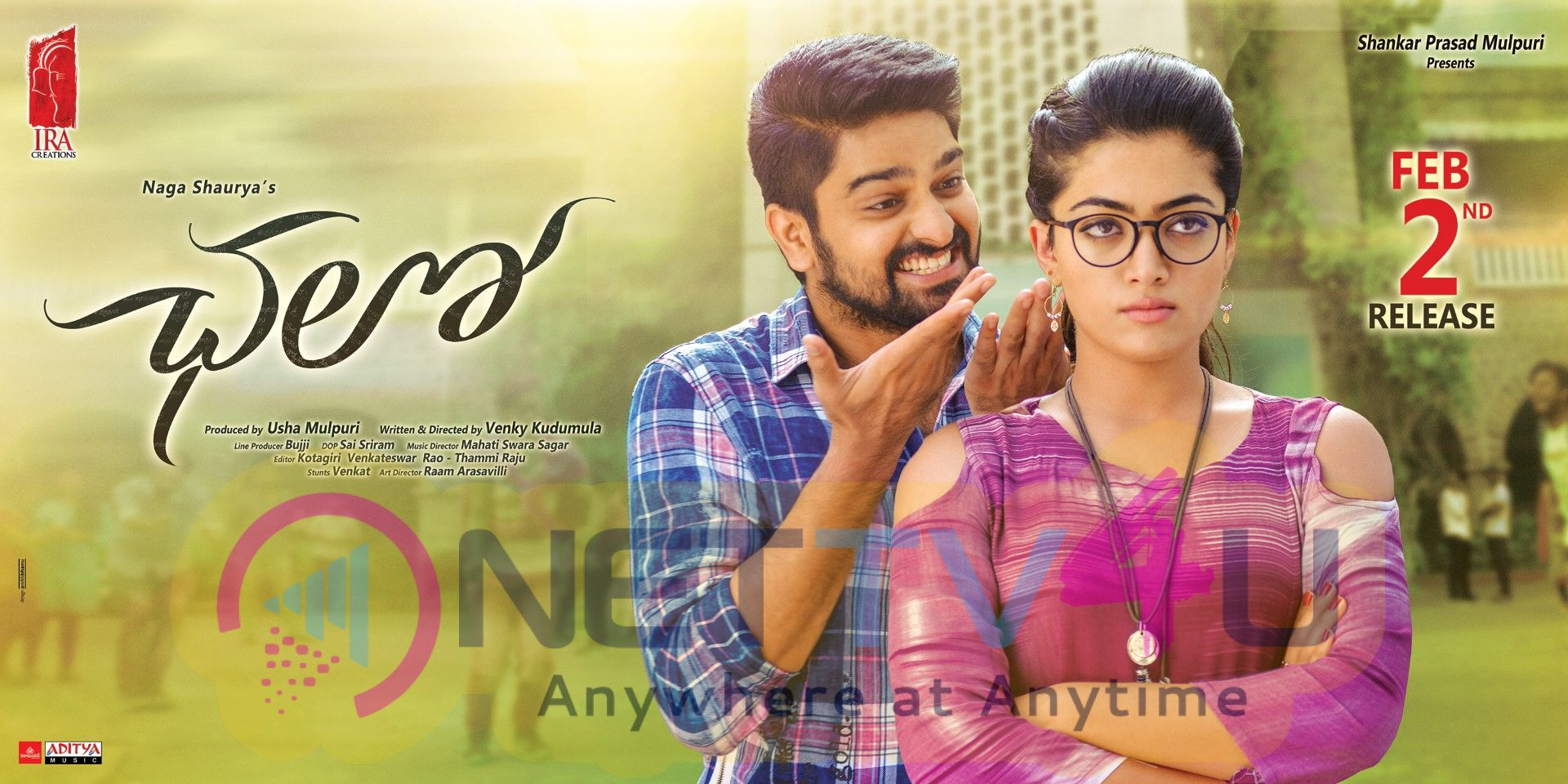 Chalo Movie Release Date Posters