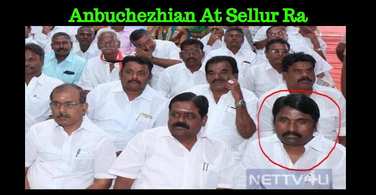 Minister Sellur Raju Creates A Controversy With Anbuchezhian!