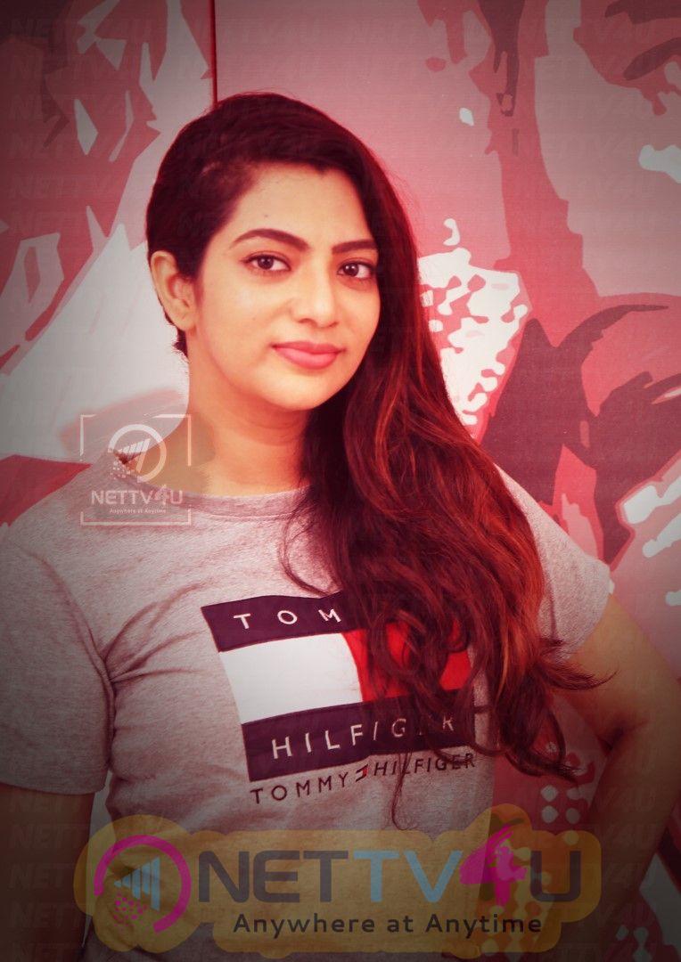 Actress Saipriya Deva Exclusive Interview Stills Tamil Gallery