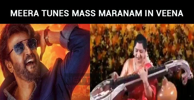 Meera Krishnan Tunes Mass Maranam In Veena!