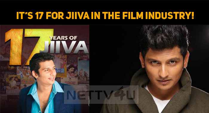 It's 17 For Jiiva In The Film Industry!