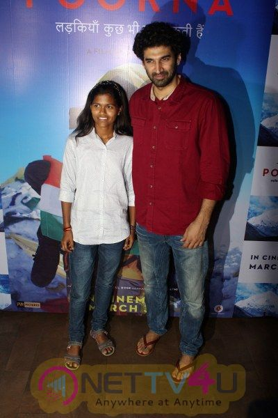 The Red Carpet Of The Special Screening Of Film Poorna Hindi Gallery
