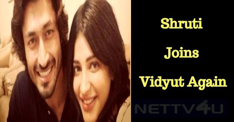 Shruti Joins Vidyut Jamwal!