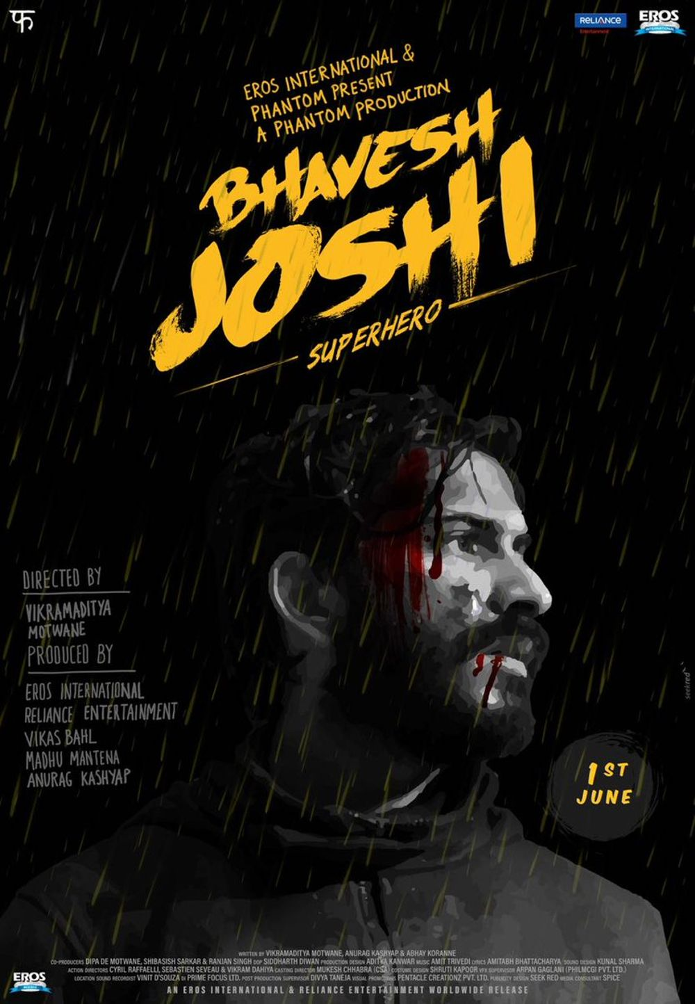 Bhavesh Joshi Superhero Movie Review Hindi Movie Review