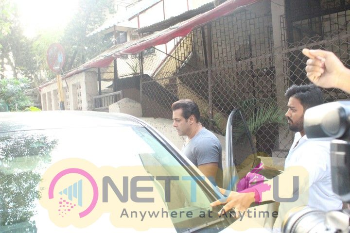 Salman Khan Came To Dubbing Studio Hindi Gallery