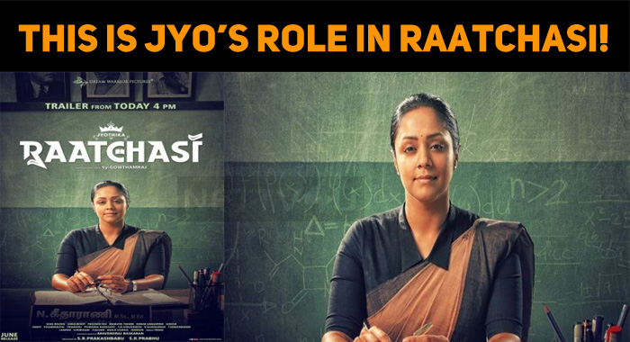This Is Jyo's Role In Raatchasi!