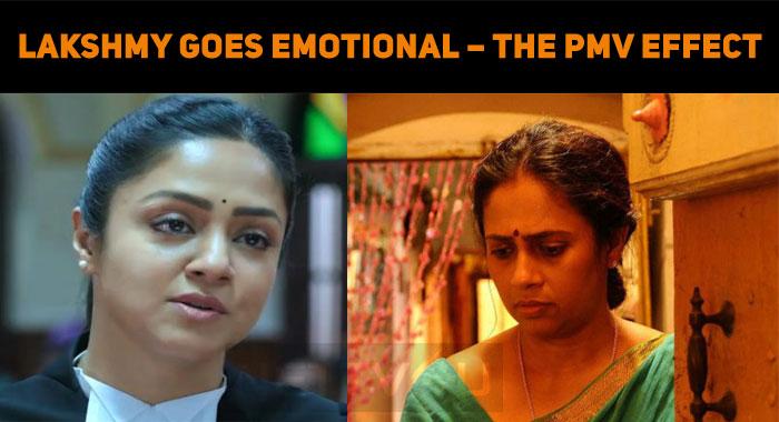 Lakshmy Ramakrishnan Goes Emotional – The PonMa..