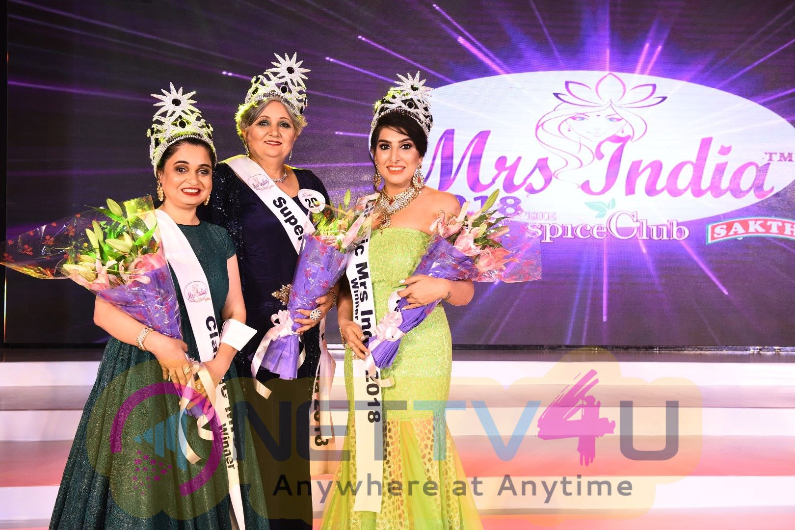 6th Edition Of Mrs India Pageant Grand Finals 2018 Pics