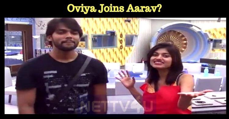 Oviya Joins Aarav?
