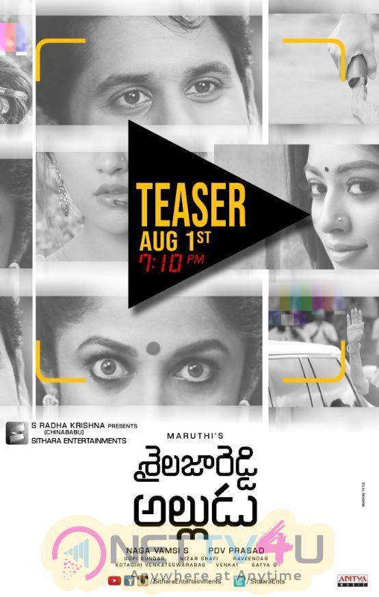 Shailaja Reddy Alludu Movie Posters Telugu Gallery