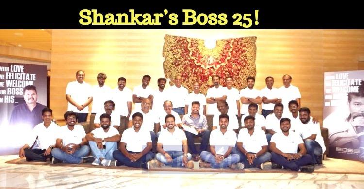 Shankar's Boss 25!