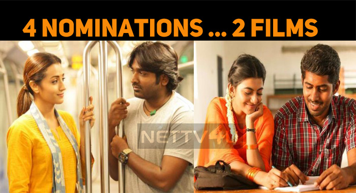 96 And Pariyerum Perumal Nominated In Four Categories In SIIMA!