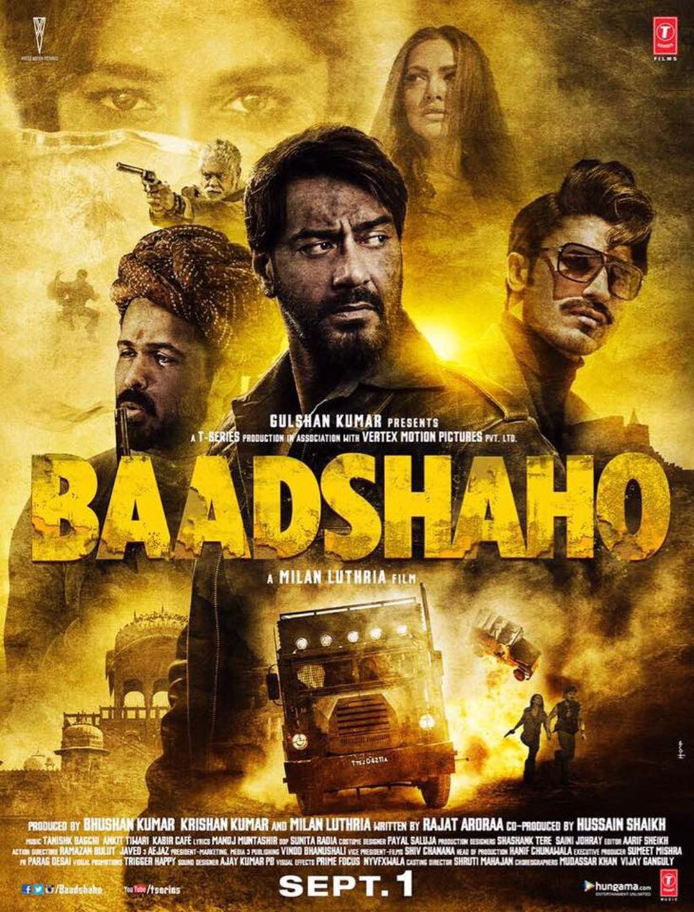 Baadshaho Movie Review Hindi Movie Review