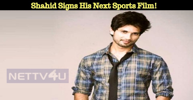 After Dil Bole Hadippa Shahid Signs His Next Sp..