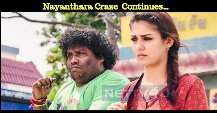 Even After Months Nayanthara Craze Still Continues…