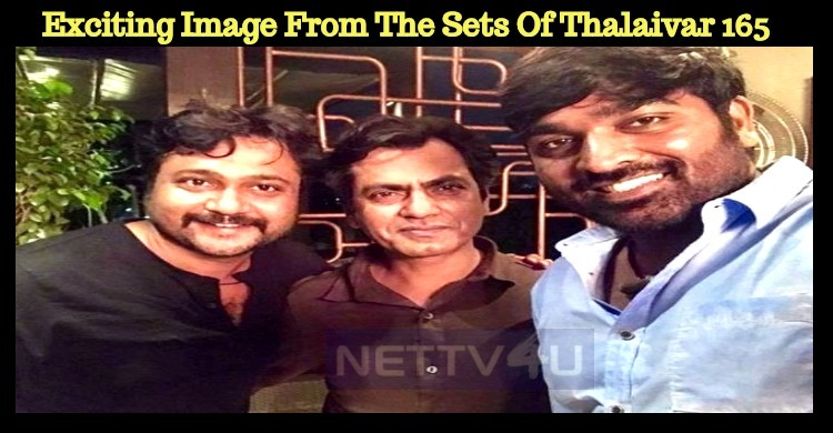 Thalaivar 165 Updates: Exciting Image From The Sets Of Thalaivar 165