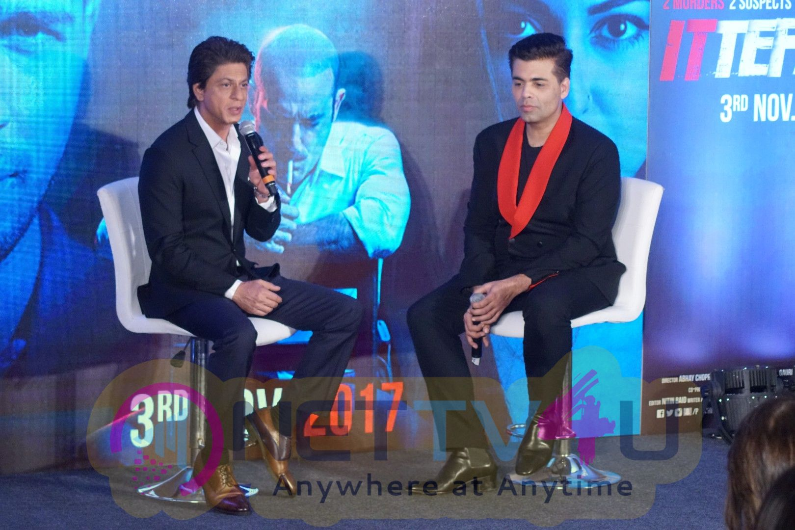 Shah Rukh Khan In Conversation With Karan Johar And The Team Of Ittefaq  Hindi Gallery