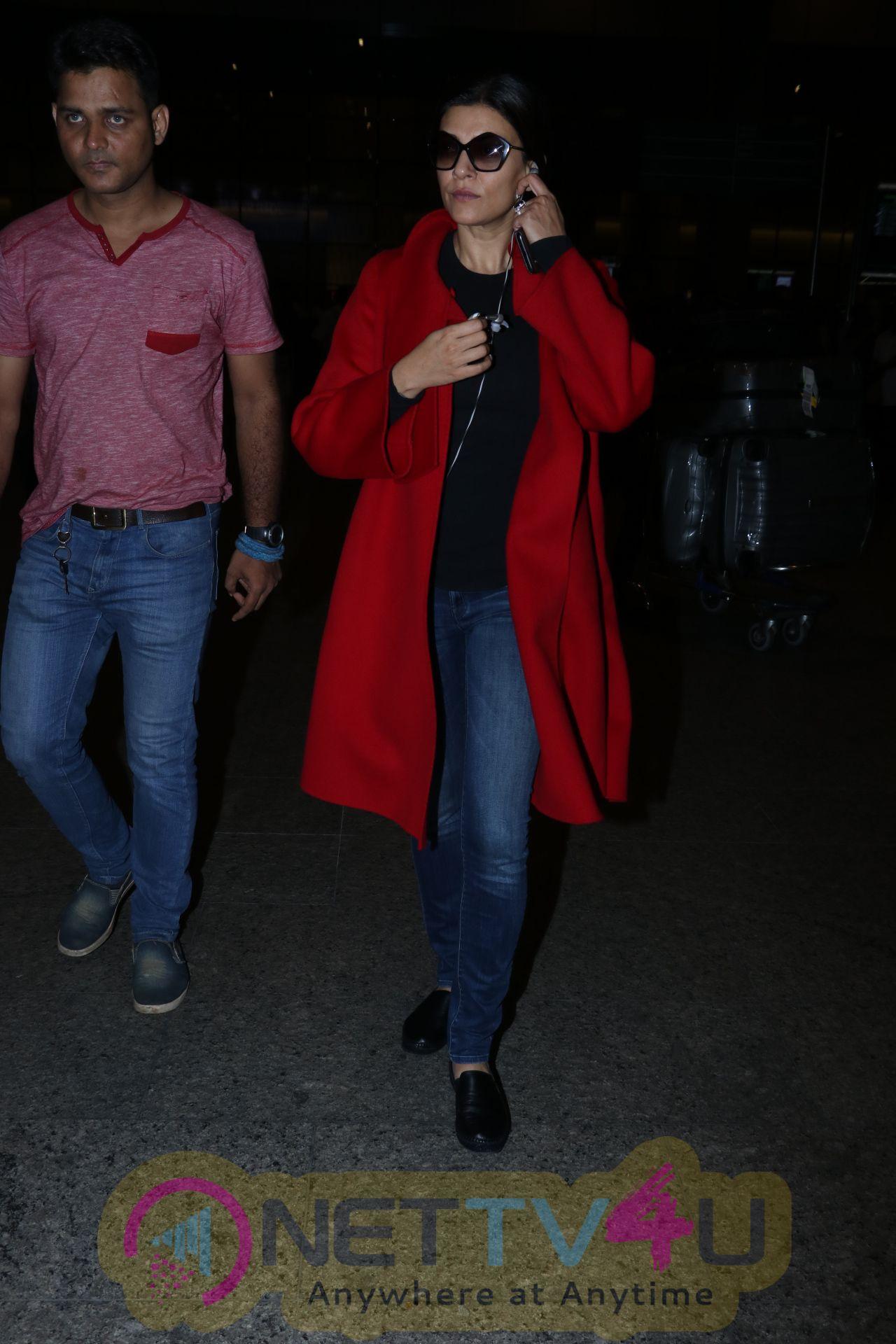 Sushmita Sen Spotted At Airport Stills