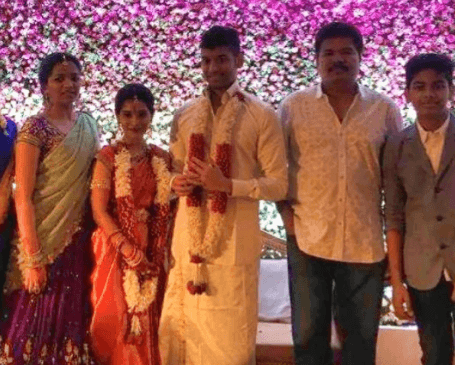 Vikram's Daughter Marries M K Muthu's Son