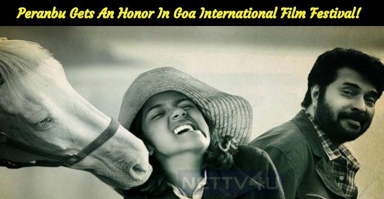 Peranbu Gets An Honor In Goa International Film..