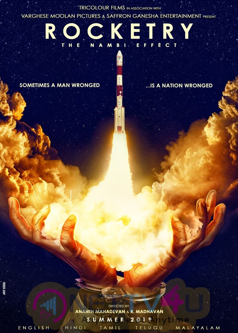 Rocketry - The Nambi Effect Movie Posters