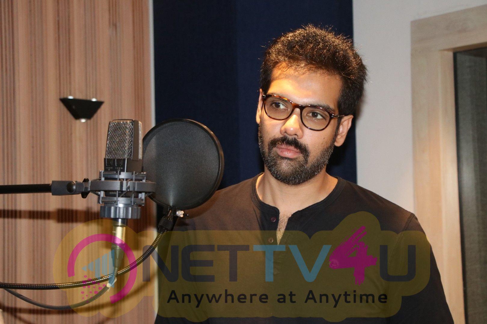 Actor Sibiraj In Ranga Movie Dubbing Images