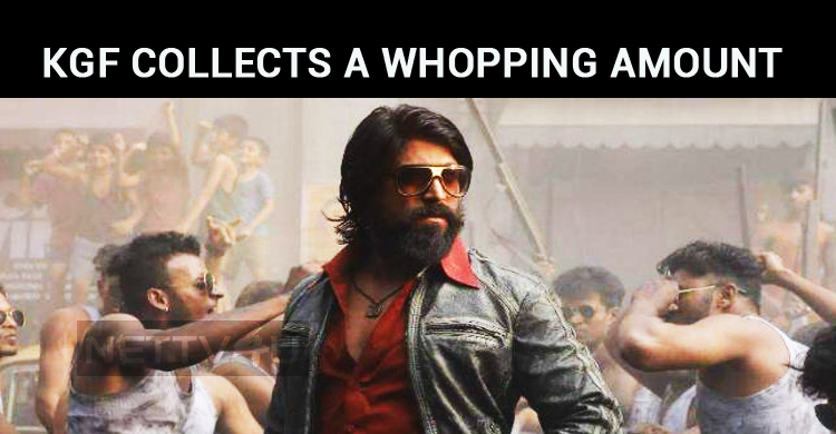 KGF Collects A Whopping Amount At WW Box Office..