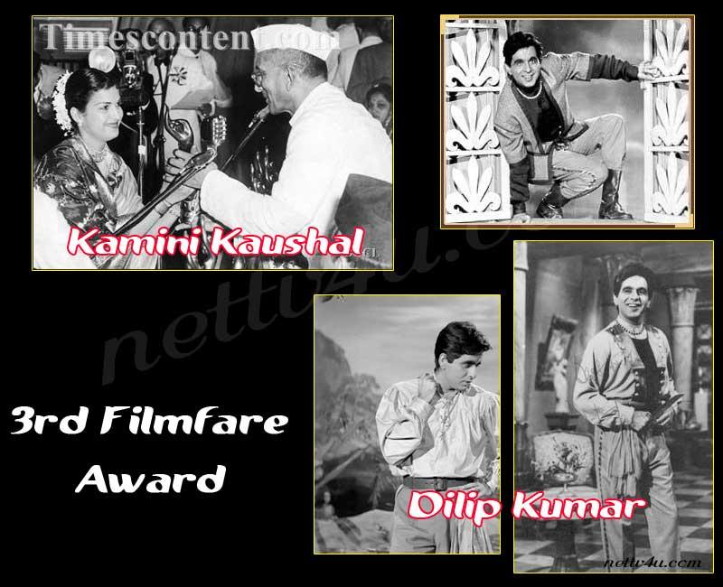 3rd Filmfare Award